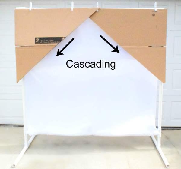 DIY Freestanding PVC Backdrop