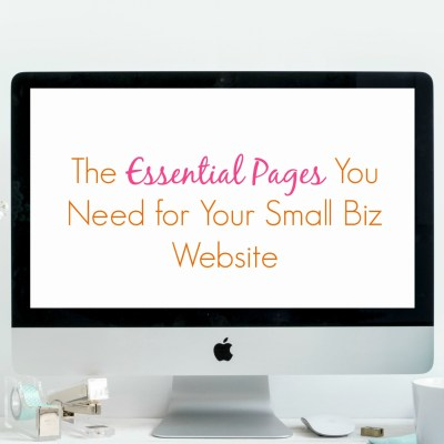 The Essential Pages Your Creative Business Website Needs