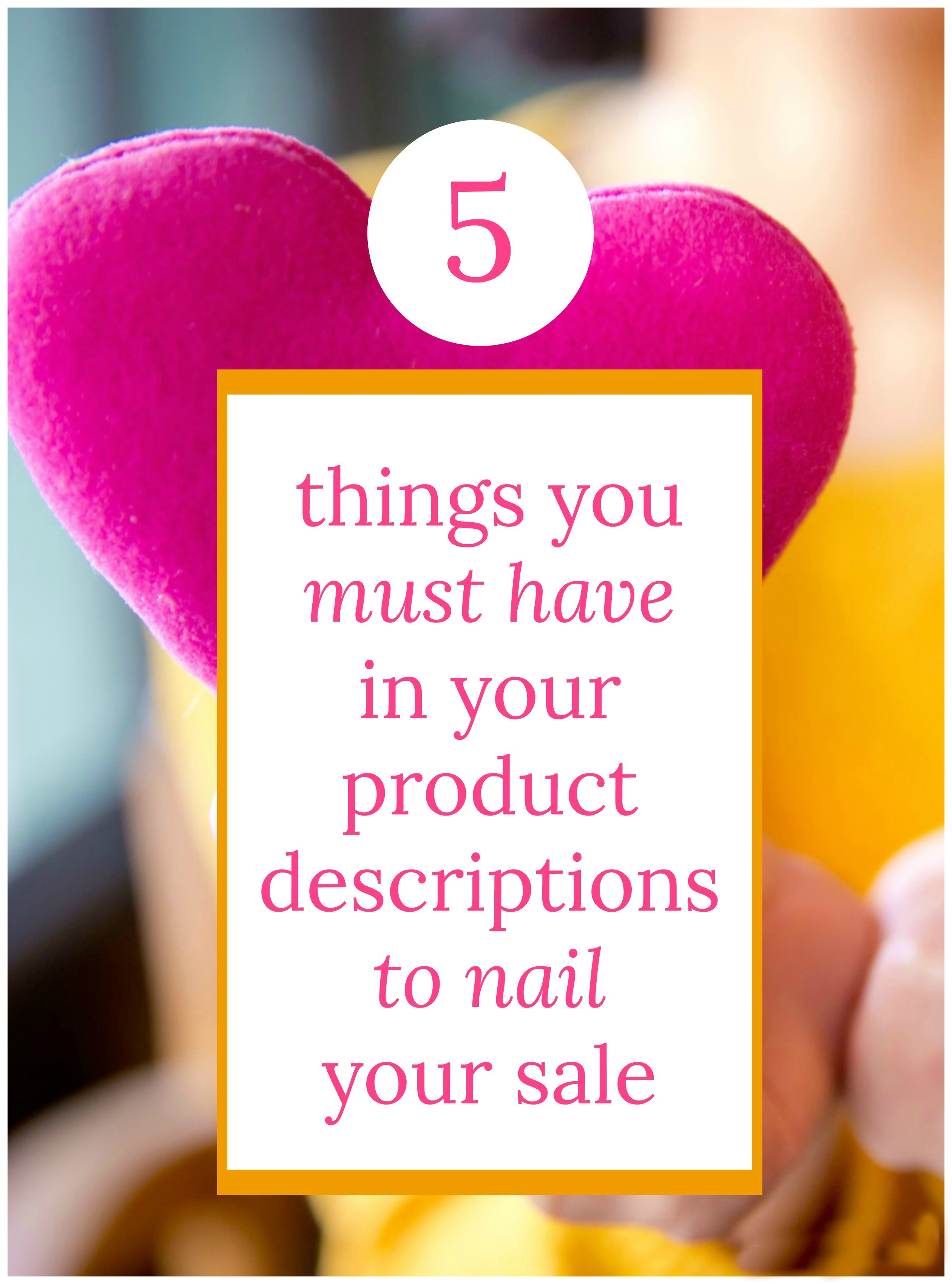 Ecommerce Product Descriptions: 5 Tips that Sell Your Product