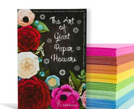 The Art of Giant Paper Flowers Book
