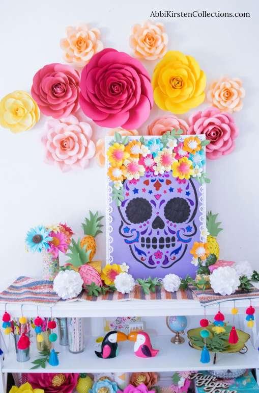 Day of the Dead Sugar Skull Craft