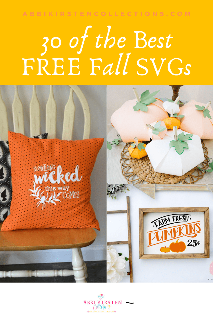 30 of the BEST Free Fall SVG Cut Files