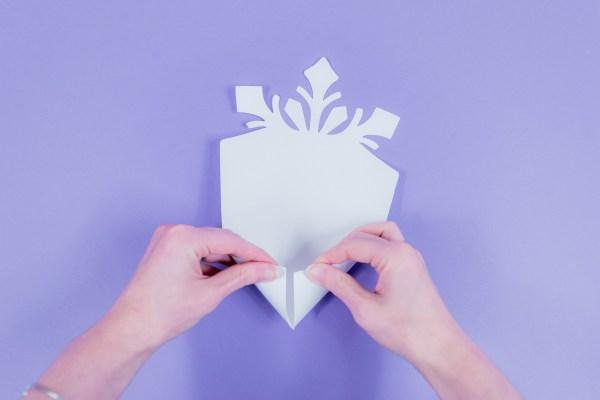 Paper Snowflake Tutorial: Easy DIY Giant Snowflake Template