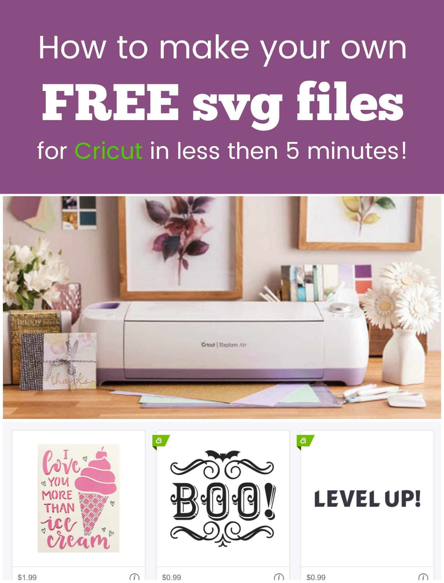 How to Convert an Image to SVG to use in Cricut Design Space