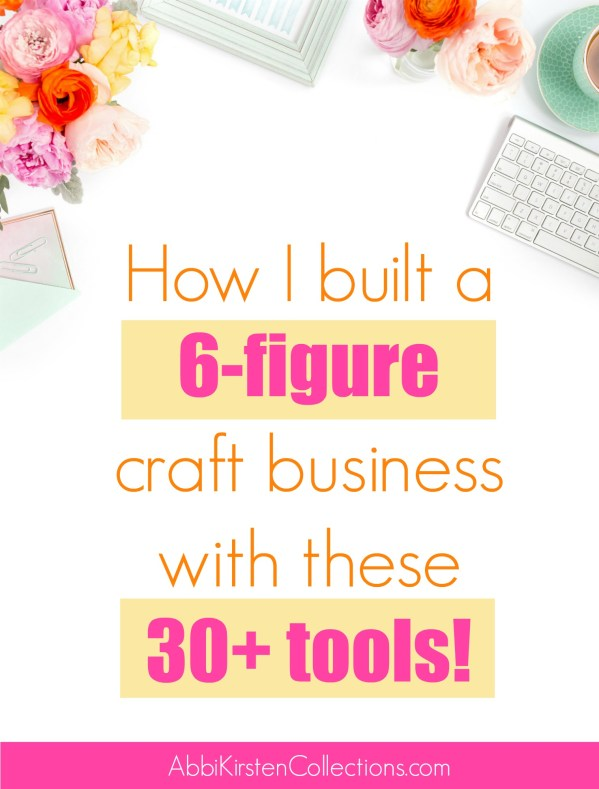 Starting A Home Craft Business Building A Successful Small Business