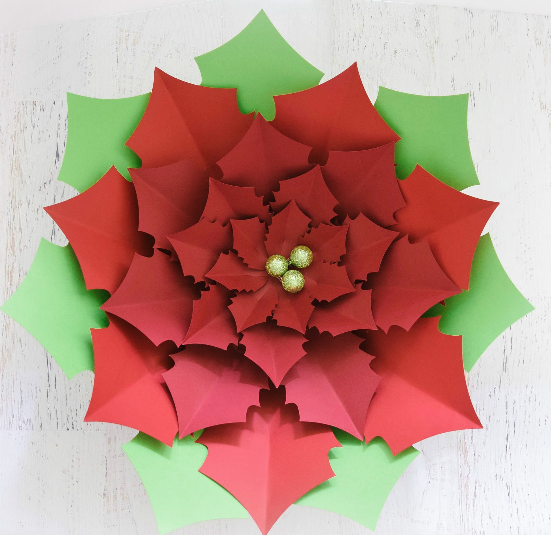 13 - Origami Poinsettia 014 | RoniJJ | Flickr | 1841x1896