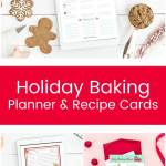 Christmas Holiday Planner: The Happier Holiday Printable Planner is everything you need to get organized and stay stress free this holiday season!