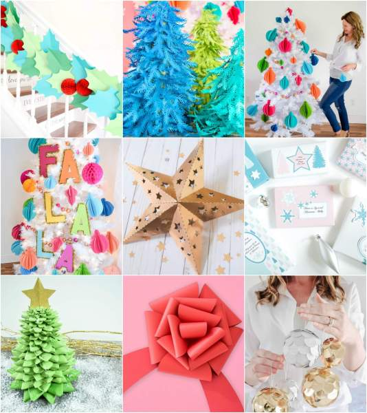 Free Christmas craft templates