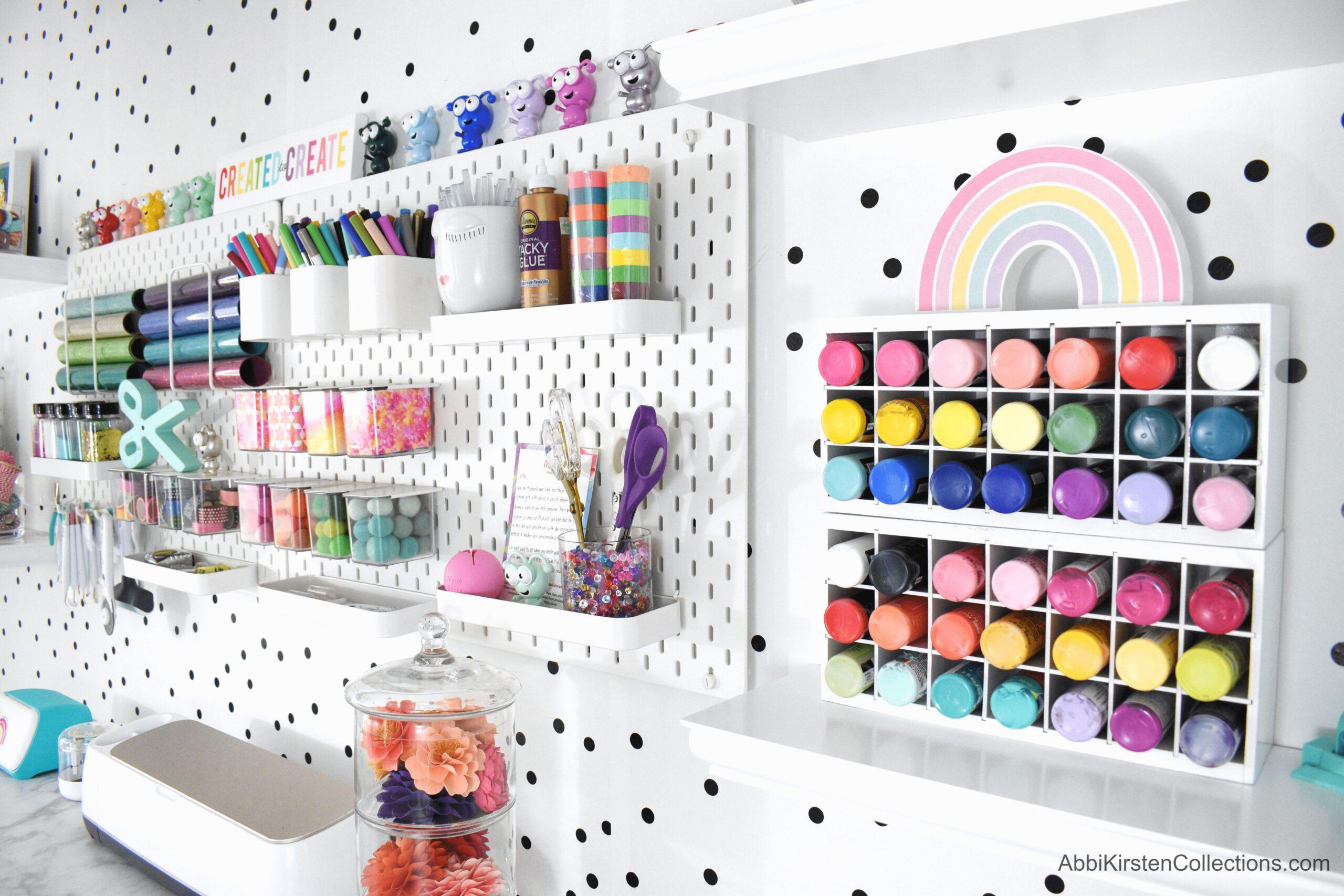 Craft Room Organization: Best Storage Ideas Plus Free Craft Room Printables