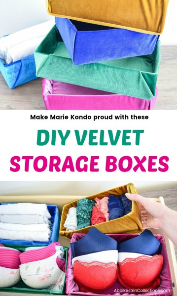 storage box organizational ideas. Marie Kondo tidying up