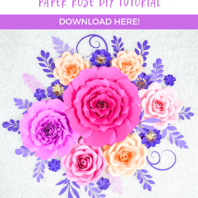 Penelope Paper Rose DIY Tutorial