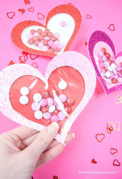 Easy Valentine's Craft with Free SVG and Tutorial.