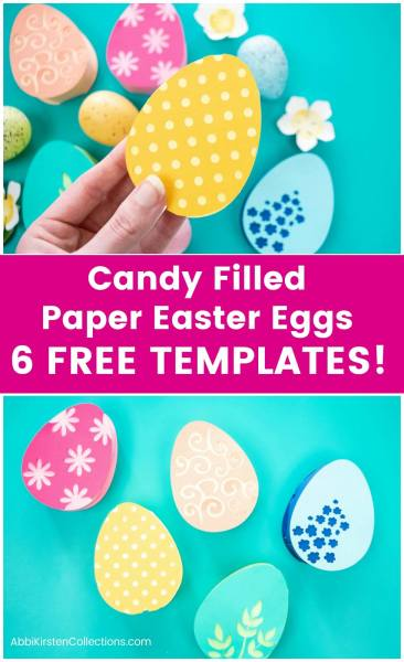 free easter egg paper craft