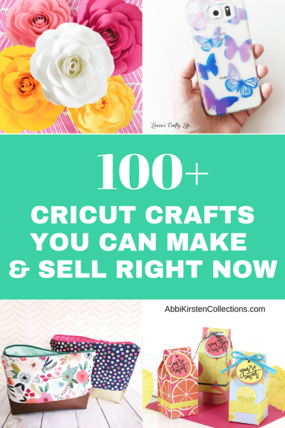 The Best Cricut Crafts to Sell.