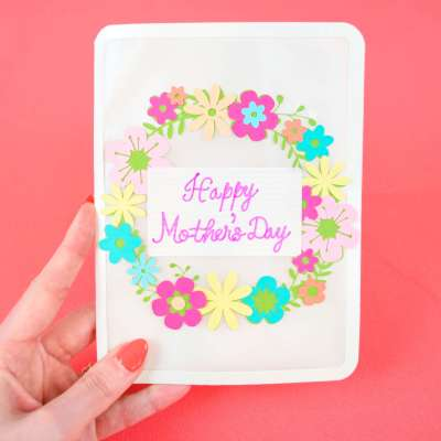 DIY Mother's Day Flower Card: Tutorial and Free SVG