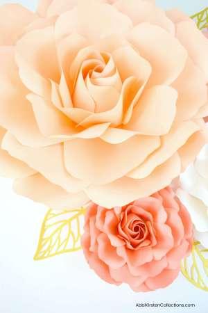 paper rose templates