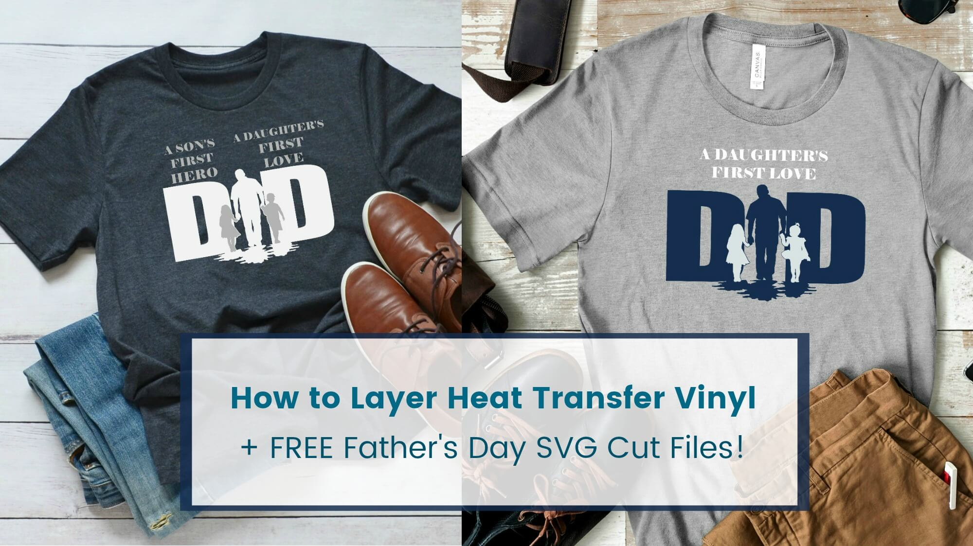 How to Layer Heat Transfer Vinyl the Easy Way