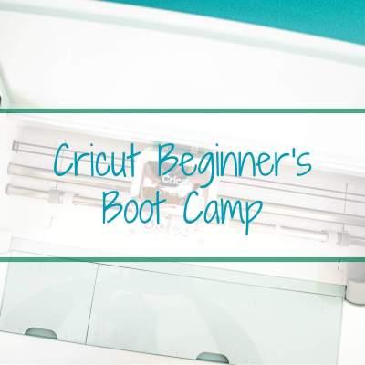 Cricut Tutorials for Beginners: Free 3 Day Cricut Boot Camp