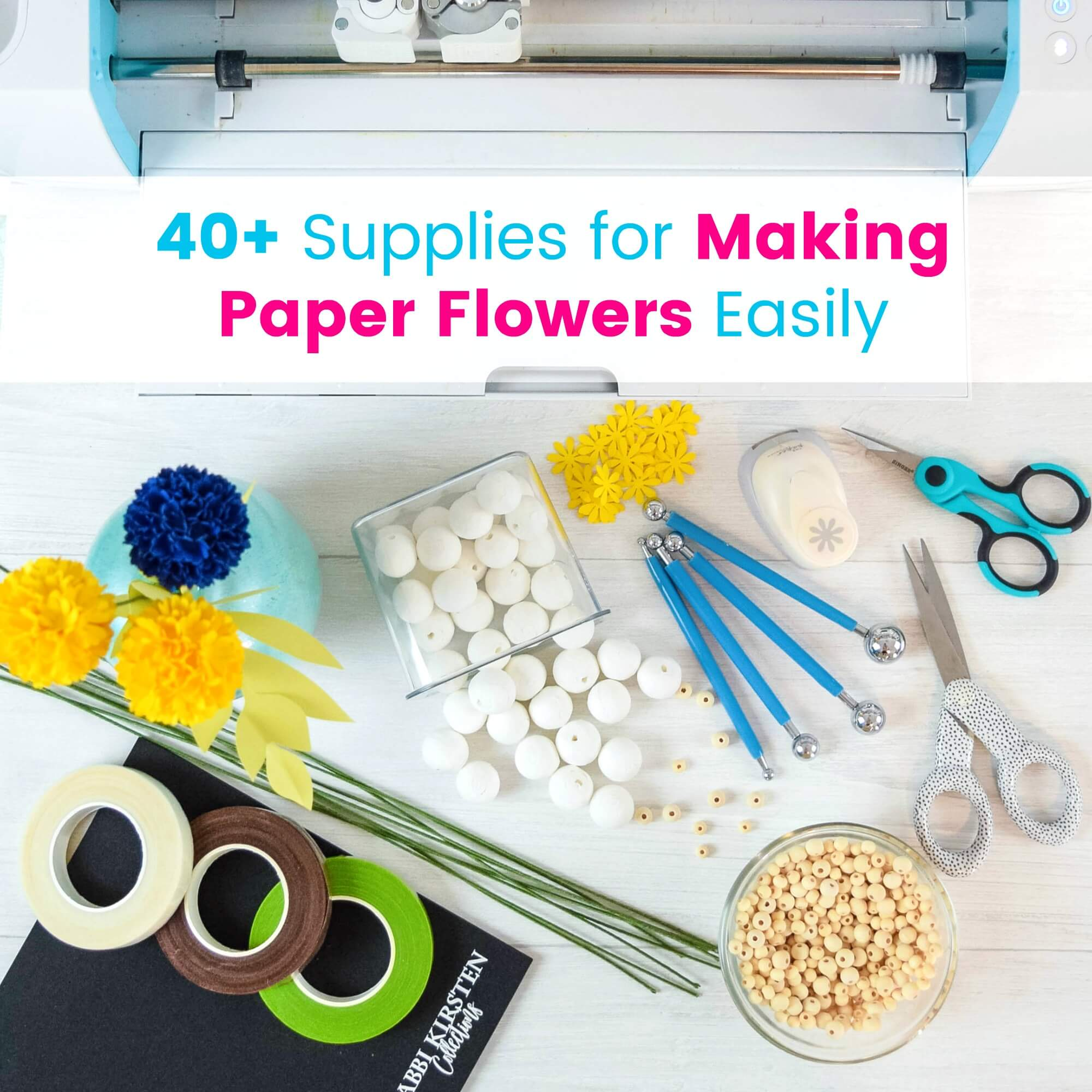 DIY Paper Flower Supplies: Step by Step Guide to Crafting Realistic Blooms