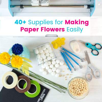 DIY Easy Paper Flowers: Step by Step Guide to Supplies and Crafting Realistic Blooms