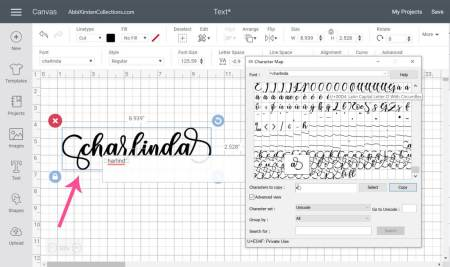 How to add glyphs in Design Space