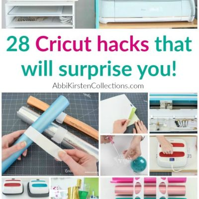 28 Cricut/Design Space Hacks  That Beginners Should Know