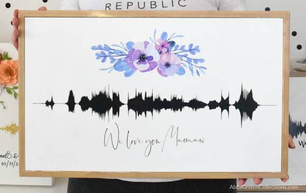How to Make Sound Wave Art - Converting a Video to a Sound Wave Image. Learn step by step how to convert a video into an audio file to use as soundwave art.