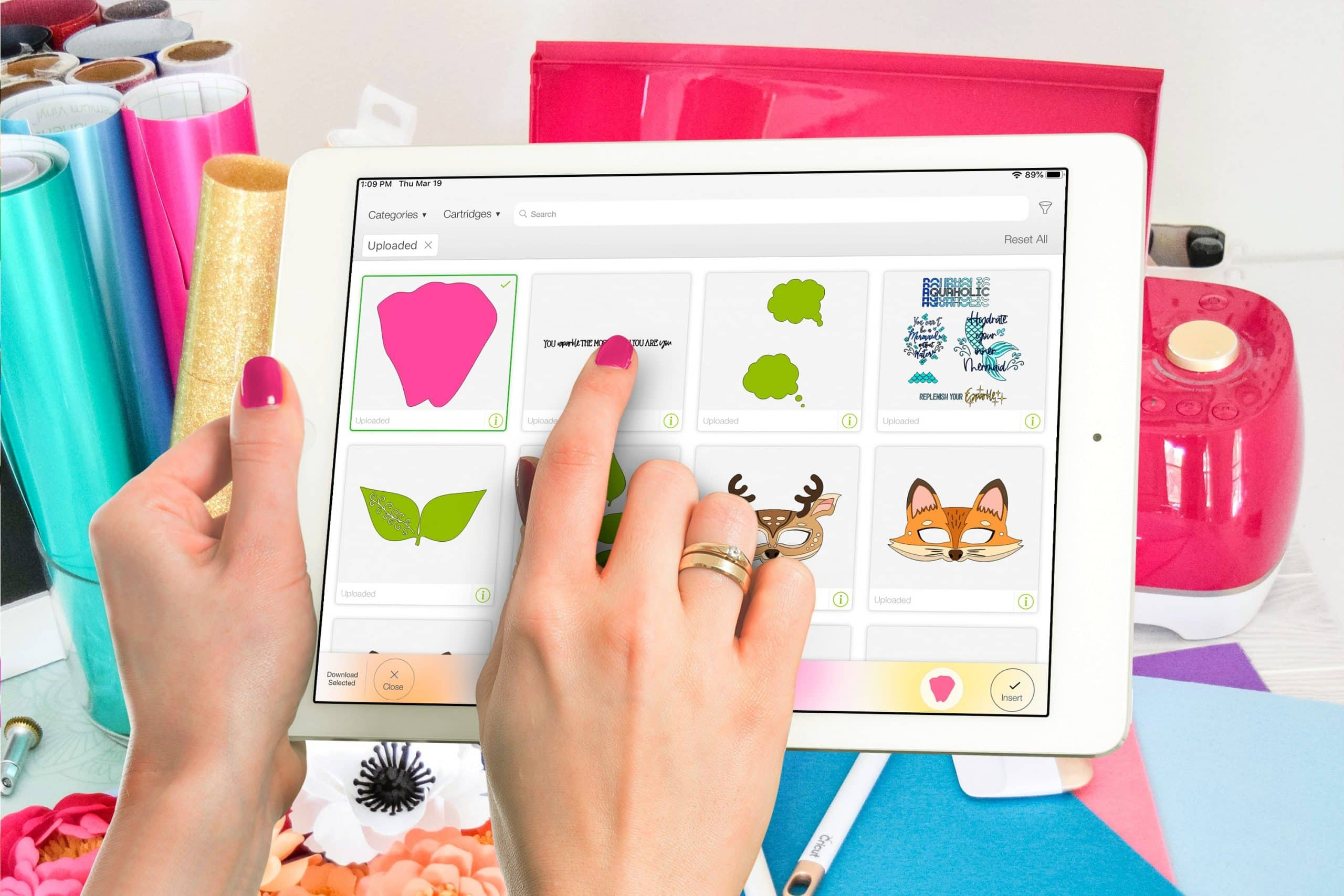 How to Open Zip Files on an iPad and Upload SVG files in Cricut Design Space
