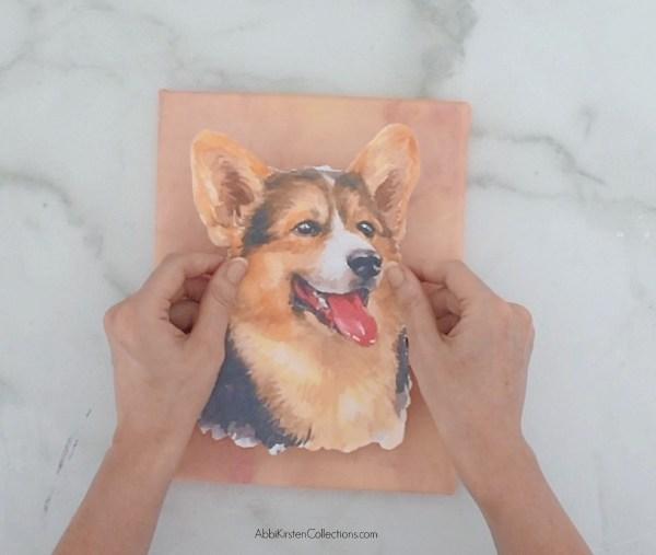 Printable vinyl watercolor images.