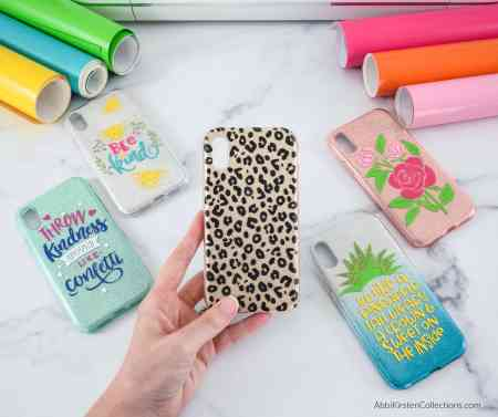 DIY Phone Case with Cricut and Vinyl. Use your Cricut machine to customize and decorate any phone case. Download fonts & graphics from Creative Fabrica