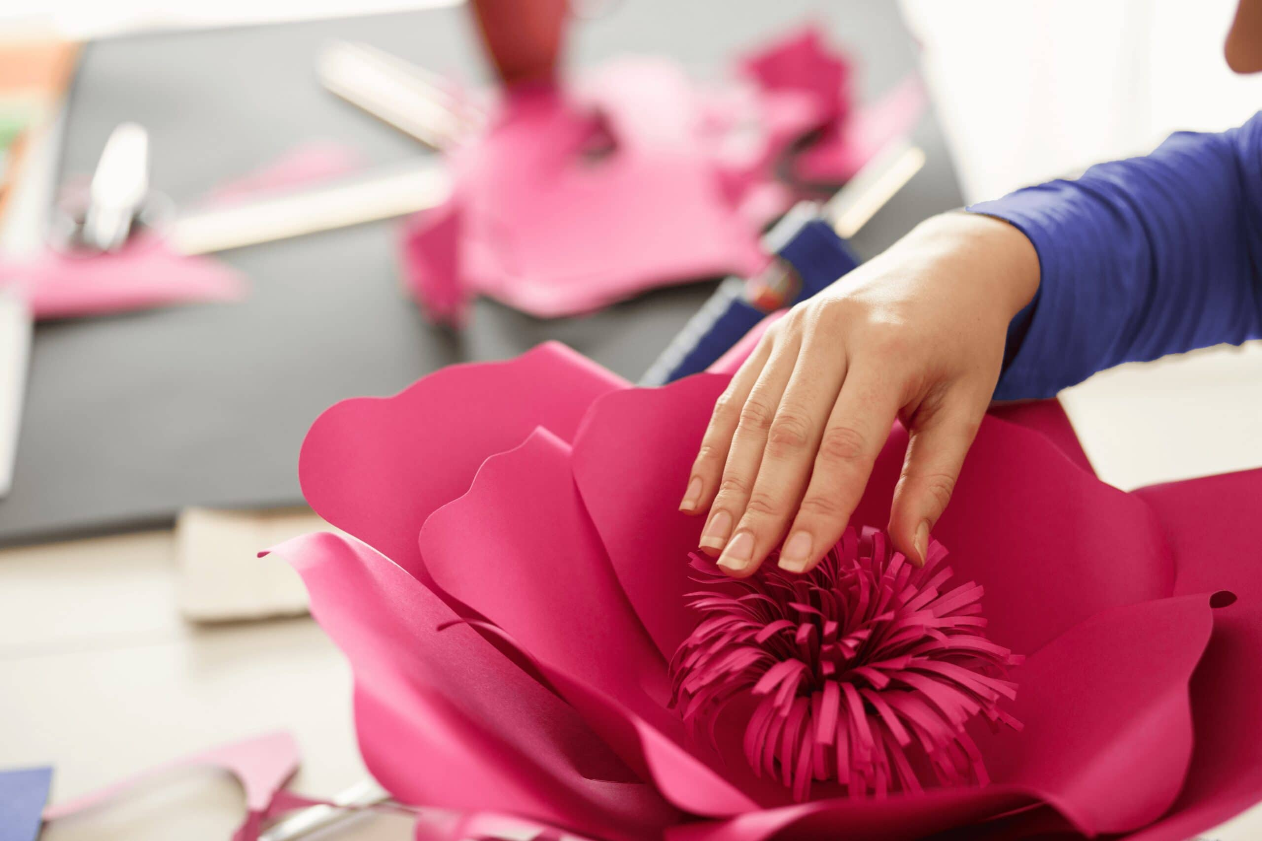 How to Make Paper Flowers with Cricut and Other Cutting Machines – Tips for Cutting Machine Users