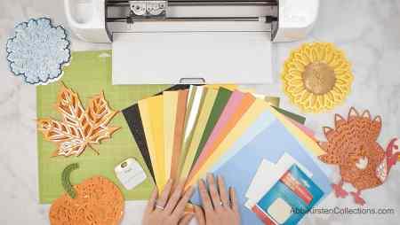 paper mandala supplies