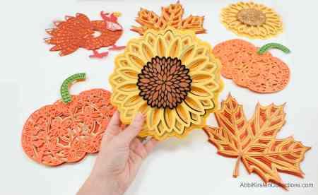 sunflower mandala tutorial