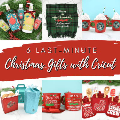6 Last-Minute Handmade Christmas Gifts to Make With Cricut