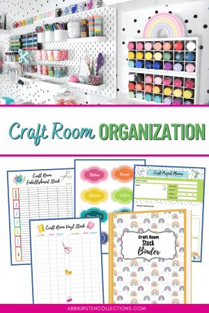 Craft room organization and storage ideas.