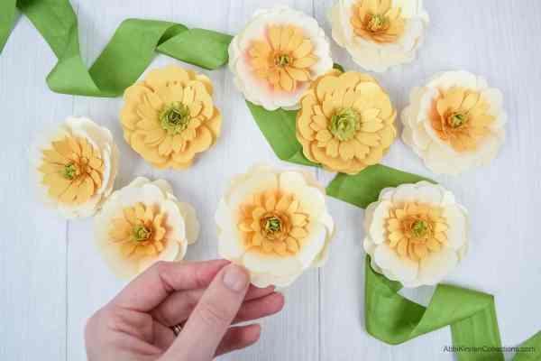 Buttercups & paper craft idea