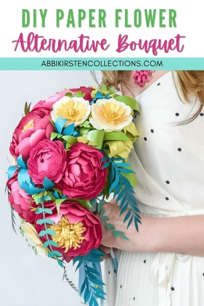 Learn how to make a paper flower bouquet. Create paper flower arrangements or alternative bouquets for weddings, showers and home decor.