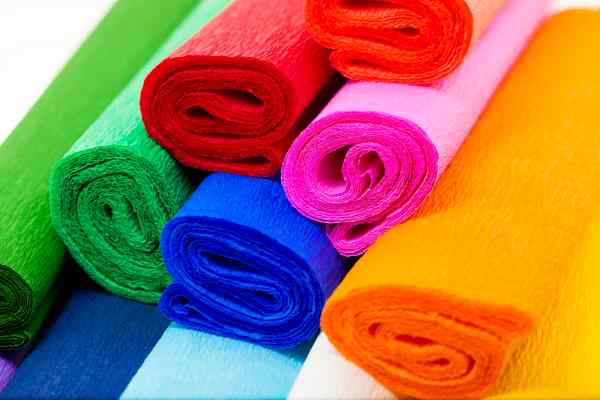 The best crepe paper for making flowers.