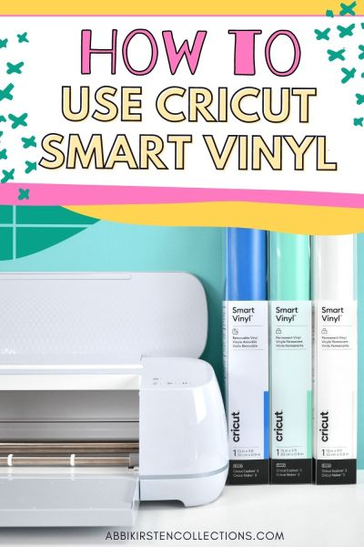 How to Use Cricut Smart Vinyl. Cricut Smart Material tutorial for the Cricut Maker 3 and Explore 3. DIY laundry room decal project.