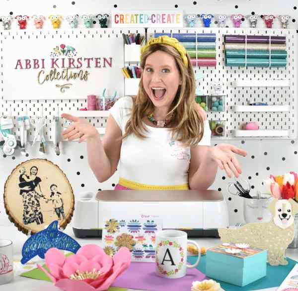 Abbi Kirsten Collections Cricut tutorials, paper flower crafts and DIY projects.