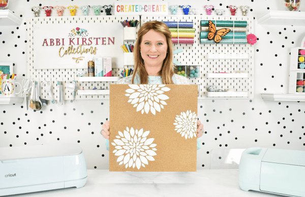 A full tutorial for how to making stencils with your Cricut machine. Compare both stencil vinyl and how to create reusable stencils.