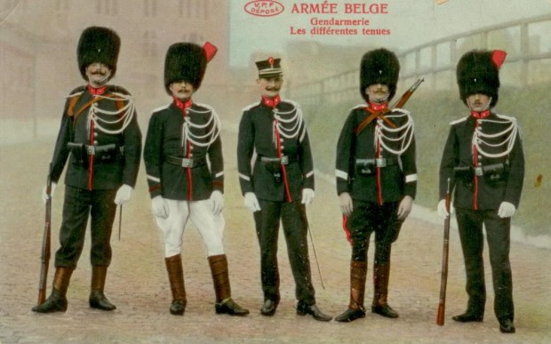 VPF Gendarmerie Les différentes tenues 001