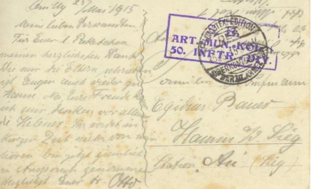 Belgische Gefangene in deutschen Diensten verso 001