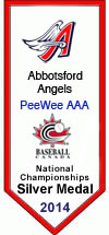 Peewee National Championships Silver Medal 2014