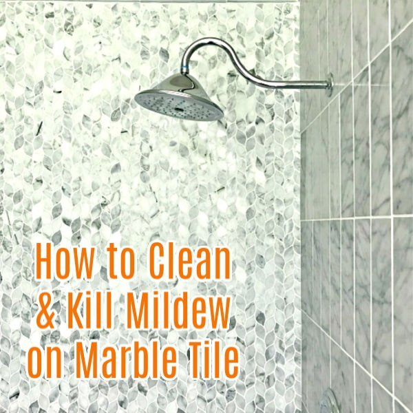 how to clean marble shower tile and get
