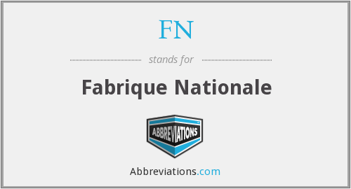 Image result for fn fabrique nationale