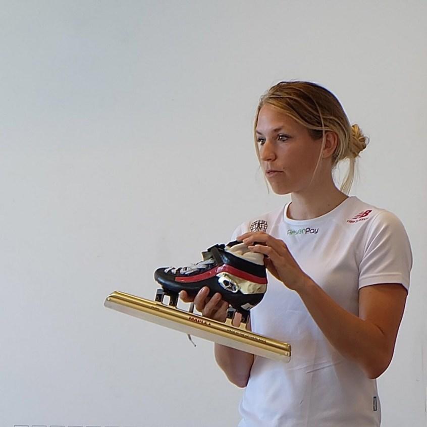 2016-06 Annette met schaats