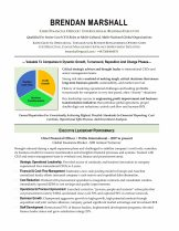 Executive Resume Samples | Premier Writing Solutions