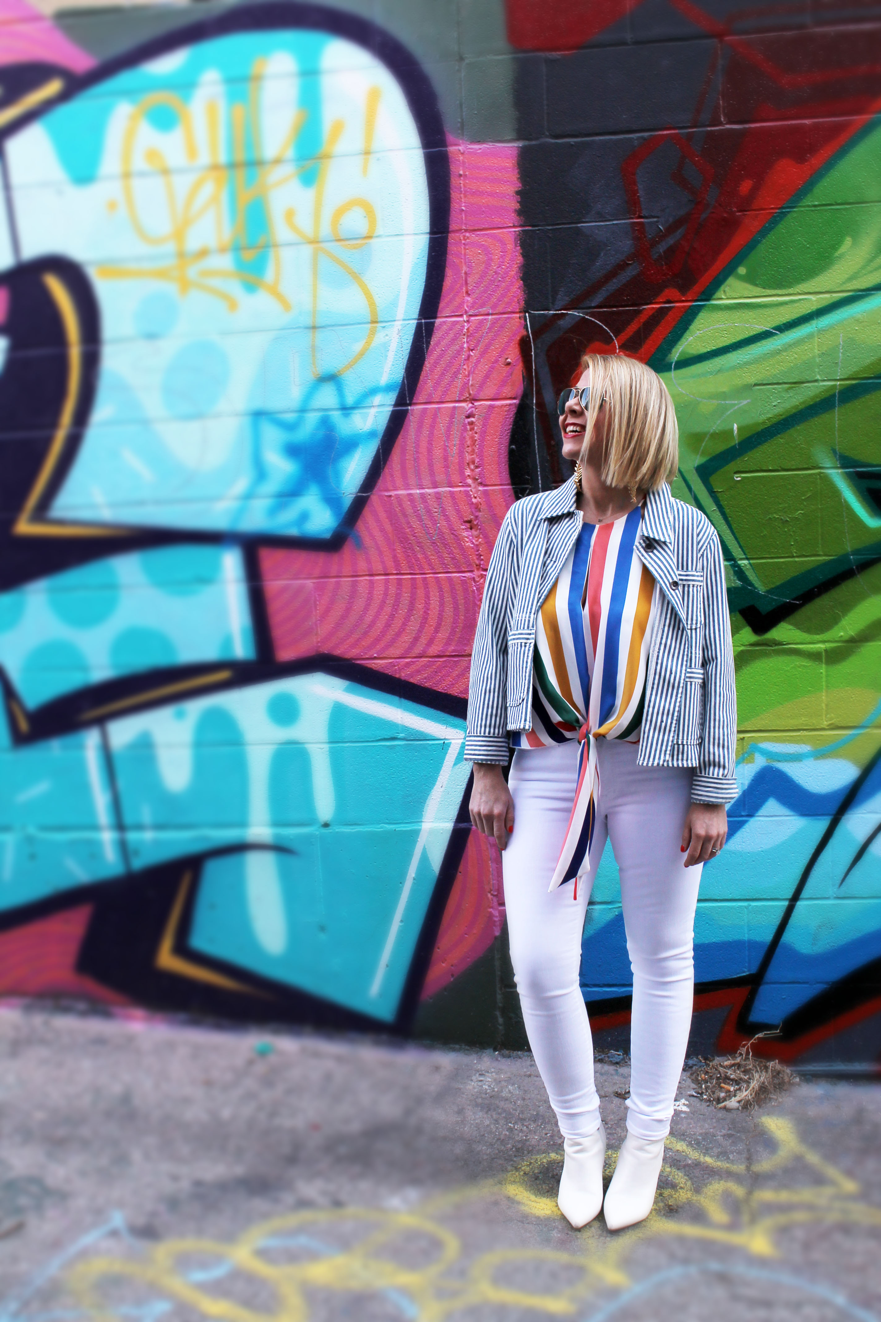 How to transition COLOR into your wardrobe for Spring!