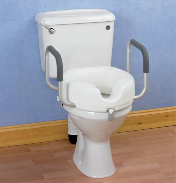 rehausseur de toilettes avec ou sans